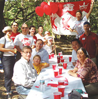 The Northern California branch of the Alumni Association got together for some expatriate celebrations and a Canada Day picnic at Huddard Park in Woodside, California.